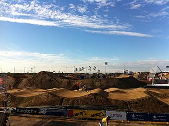 Philippines at the 2012 Summer Olympics - The BMX track at the London Velopark.