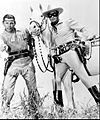 Lone Ranger and Tonto with Silver 1960.jpg