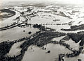 Long Tom and Willamette Rivers during 1964 Christmas flood.jpg