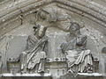Longpont-sur-Orge (91) Basilique Portail occidental 06.JPG