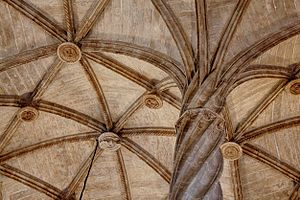Valencian Gothic - Detail of the Lonja of Valencia.