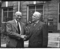 Louis St. Laurent and former Ontario Premier George Henry (50539902538).jpg