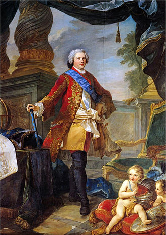 Louis, Dauphin of France (son of Louis XV) - Louis, Dauphin of France, in 1747.