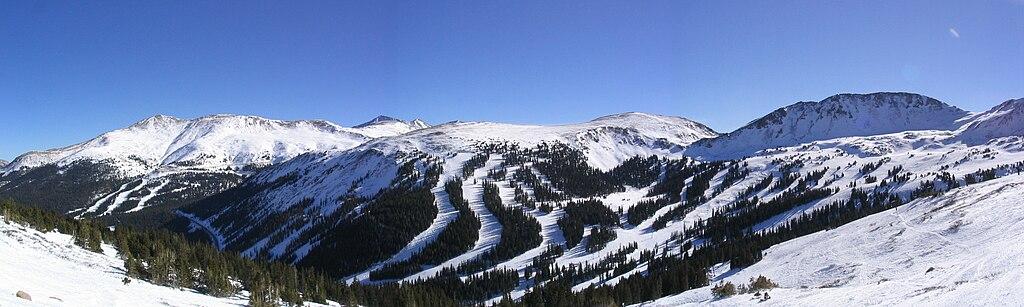 Colorado - lyžiarske strediská
