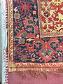 """Lower left corner of a """"Transylvanian"""" """"Lotto"""" rug, adorning the fortified church of Biertan.jpg"""