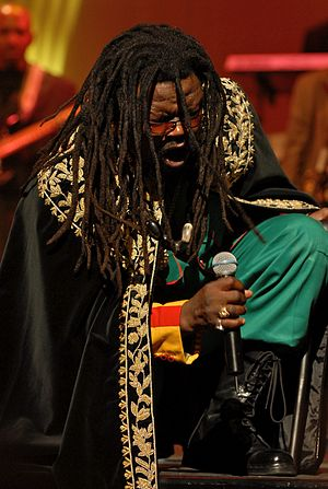 Reggae artist Luciano performing at the 2007 I...