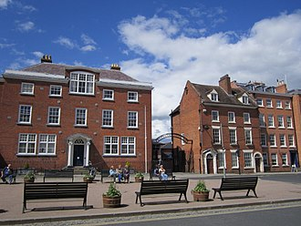 Ludlow College - The college buildings on Castle Square.