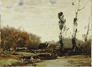 Landschaft bei Bernried