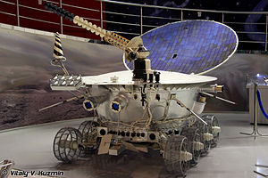 Space probe - Image: Lunokhod 1 in Memorial Museum of Cosmonautics 01