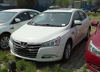 Dongfeng Yulon - Image: Luxgen 5 Sedan 2 China 2014 04 28