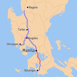 Luzon expressways map slex.png