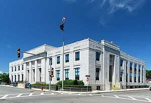 United States Post Office–Lynn Main - Image: Lynn Post Office
