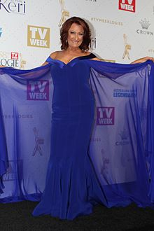 Lynne McGranger arrives at the 2016 TV Week Logie Awards (26814449462).jpg