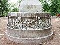 Lyon 1er - Jardin des Chartreux, buste de Pierre Dupont, arrière du socle.jpg
