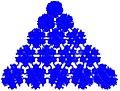 Második ikozaéder egy lapja dodekaéderekből.jpg