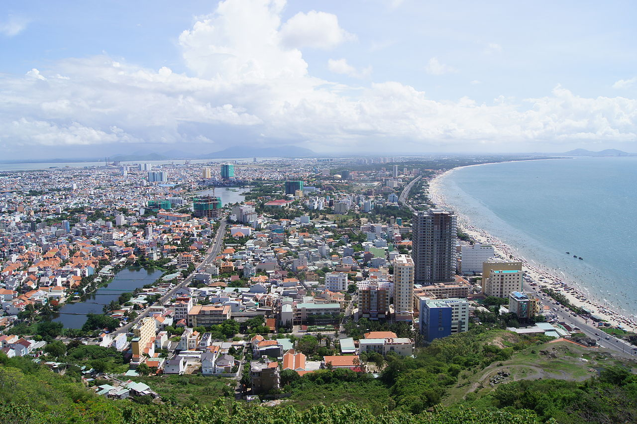 Bãi biển Vũng Tàu. Ảnh Wikipedia