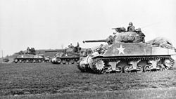 M4 Sherman en Europe