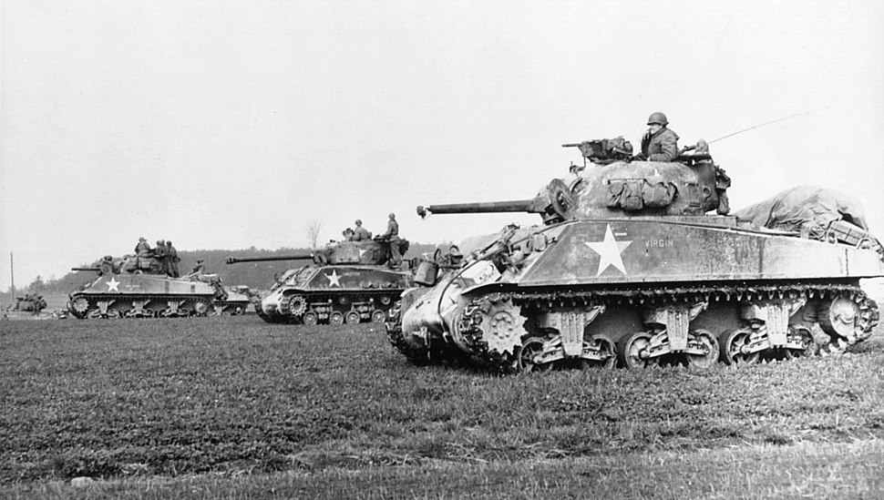 M4-Sherman tank-European theatre