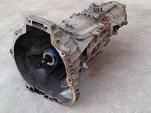 Mazda M5OD transmission - Image: M5OD transmission