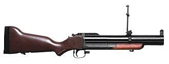 Grenade launcher - M79 grenade launcher