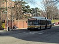 MBTA route 39 bus at Bynner Street, March 2016.jpg