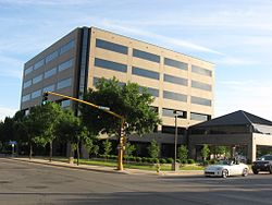 Principal Financial Group Building in Downtown Mason City