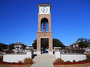 Mississippi Gulf Coast Community College - Image: MGCCC Clock Tower