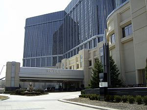 Chinatown, Detroit - MGM Grand Detroit in the location of the first Detroit Chinatown