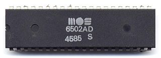 MOS Technology 6502 8-bit microprocessor