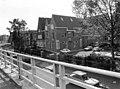 Maastricht, nieuwbouw muziekschool St Maartenspoort, 1983.jpg