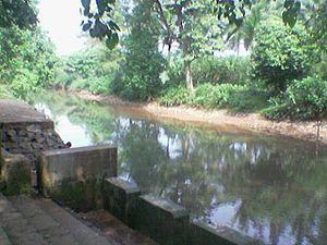 Madhur Temple - Madhuvahini stream near Madhur Temple