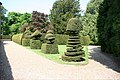 Madingley Hall, topiary and grounds - geograph.org.uk - 796847.jpg