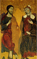 The Madonna and Christ Enthroned