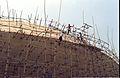 Main Auditorium Roof Under Construction - Convention Centre Complex - Science City - Calcutta 1996-02-21 1002.JPG