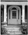 Main doorway-detail looking east - Anderson House, 3678 Belmont Street, Bellaire, Belmont County, OH HABS OHIO,7-BEL,4-5.tif