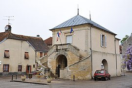 The town hall in Beaujeu
