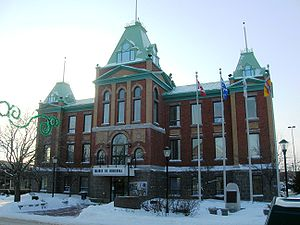 Roberval, Quebec - Image: Mairiederoberval