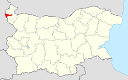 Makresh Municipality within Bulgaria and Vidin Province.