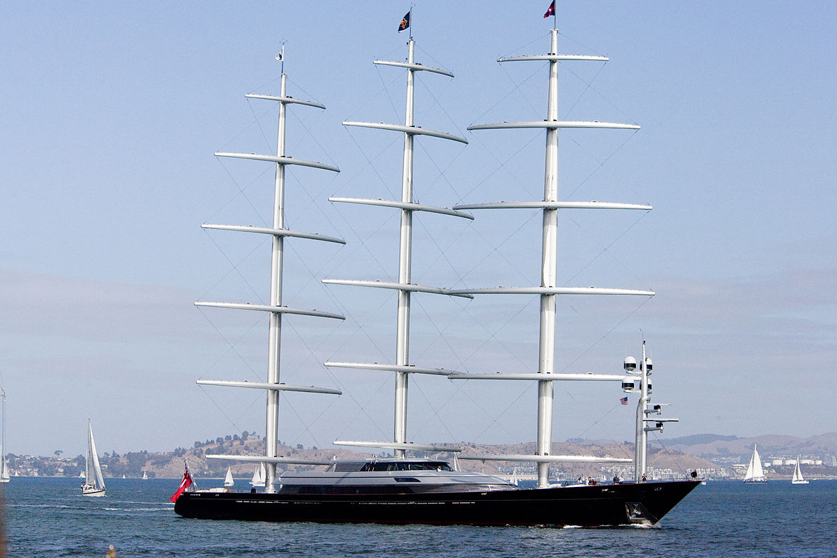 Image Result For Maltese Falcon Yacht