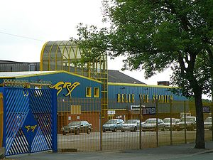 Belle Vue Stadium - Belle Vue Stadium in Manchester, UK