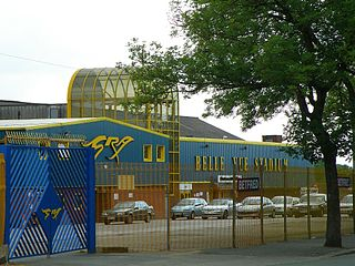 Belle Vue, Manchester area of Gorton, in the city of Manchester, England