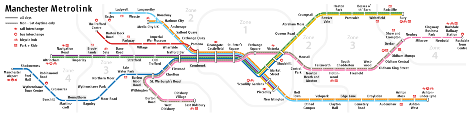 Manchester Metrolink Wikipedia