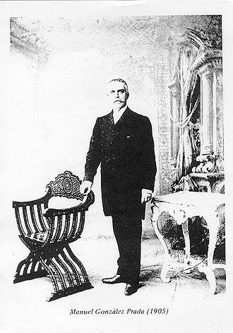 Manuel González Prada - Manuel González Prada, in 1905.