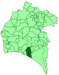 Map of Moguer (Huelva).png
