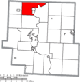 Map of Muskingum County Ohio Highlighting Cass Township.png