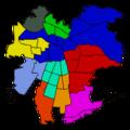Mapa Cuerpos de Bomberos, ciudad de Santiago de Chile.png