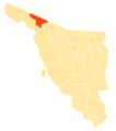 Mapa Municipios Sonora General Plutarco Elías Calles.png