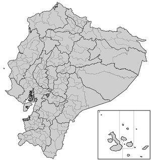 Cantons of Ecuador - Cantons of Ecuador