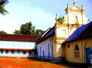 Rabban Hormizd - Mar Hormizd Syro-Malabar Church, Angamaly, built by Mar Abraham, Metropolitan and the Gate of All India