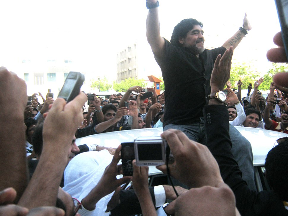 Maradona at Karama-1